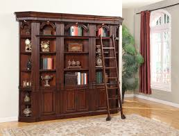 Provincial Bookcase French Provincial Library Bookcase With Ladder Azontreasures Com
