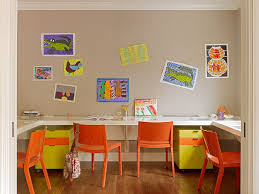 kids drawing desk kids contemporary with white window shade linen
