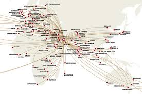 Delta Routes Map by What The Battle Between The Big 3 Us Airlines And The Gulf