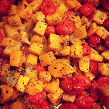 roasted tomatoes and butternut squash recipe consider the leaf