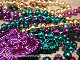 mardi gras beaded necklaces mardi gras necklace recycled craft projects for preschoolers