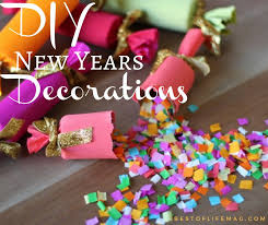 New Year Decoration Diy by Diy New Years Decorations To Ring In The New Year Best Of Life Mag