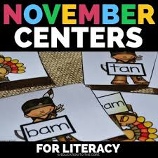 thanksgiving literacy thanksgiving centers thanksgiving