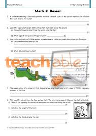 work and power worksheets free worksheets library download and