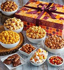 Popcorn Baskets Fall Gift Basket Ideas Gourmet Popcorn Tins The Popcorn Factory