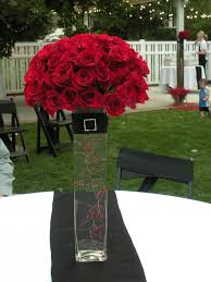 Red Rose Table Centerpieces by 68 Best Red Roses Images On Pinterest Red Roses Flowers And