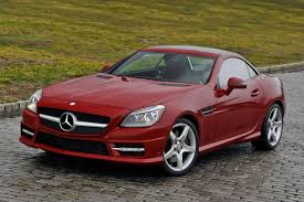 used 2015 mercedes benz slk class convertible pricing for sale
