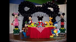 mickey mouse party decorations mickey mouse party decorating ideas new picture images of