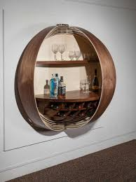 wall unit bar cabinet a wall mounted bar cabinet inspired by a spinning coin design milk