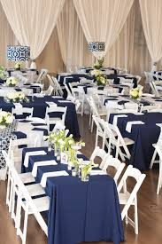 navy and yellow reception decor wedding pinterest navy