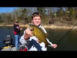 table rock lake fishing report table rock lake fishing report april 5 2016 youtube