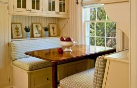 dining room corner banquette with round table stunning dining