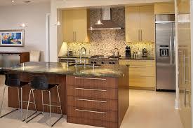 warm interior design kitchen warm brown with white modern norma