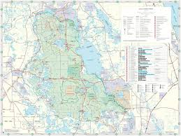 Florida Trail Map by Ocala National Forest Maplets