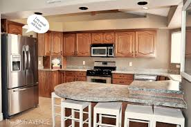 kitchen accent cabinet tutorial and party the 36th avenue