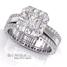 wedding rings in botswana halo diamond engagement ring emerald cut center