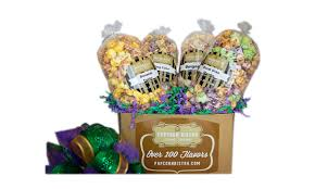 popcorn gift baskets unique new orleans style sweet popcorn corporate gift box