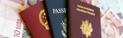 Types of travel documents for entering and departing the u s