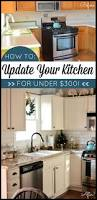 cabinet updating kitchen countertops on a budget best painted