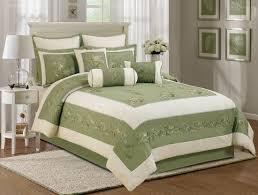 Green Bed Sets Olive Green Bedding Sets Green Serene On A Budget