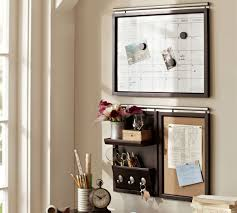 Office Wall Organization System by Daily System Espresso Stain Pottery Barn Au