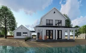 two farmhouse beautiful modern farmhouseuse plans sq ft styleme design