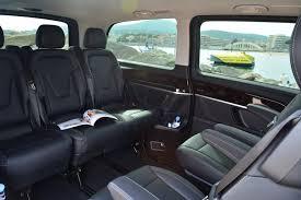 luxury minivan mercedes mercedes v class luxury class edriver