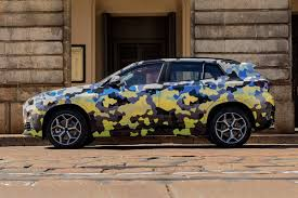 fashion grey bmw 2018 bmw x2 parades new camouflage on the streets of milan