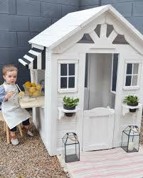 scandinavian makeover of wooden playhouse costco playhouses and