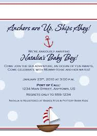 Nautical Bridal Shower Invitations Baby Shower Nautical Theme Invitations Party Xyz