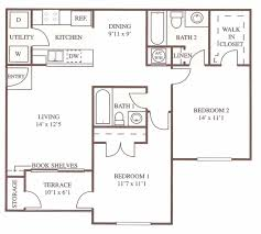 Rivergate Floor Plan by Floor Plans Centennial Crossing