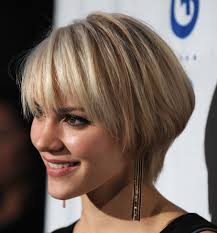 short hairstyles with bangs and layers hair style and color for