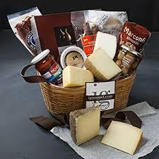 Gourmet Cheese Baskets Amazon Com Spanish Fiesta Premier Gift Basket 7 8 Pound