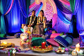 Pakistani Wedding Decorations Indian Wedding Color Palatte In Central Valley New York Pakistani