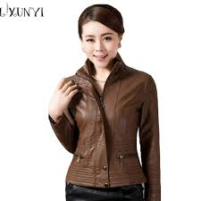 buy biker jacket online buy wholesale brown leather jacket women from china brown