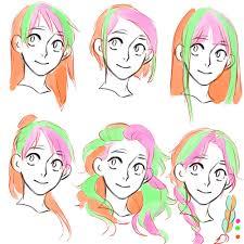 anime hairstyles tutorial hair tutorial please 3 draw hair viria and draw