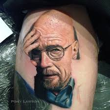 had the opportunity to tattoo a walter white over the weekend