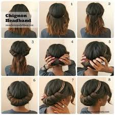 headband roll 12 best gibson tuck roll chignon images on make up