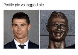 Cristiano Ronaldo Meme - cristiano ronaldo statue bust memes funny pictures