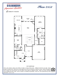 dr horton floor plan 2153 stonehaven the highlands at westridge mckinney texas