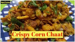 crispy corn chaat crispy corn recipe cocktail party starter how to