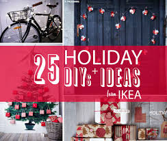 learn a few tricks from the new ikea catalog inspiration to decorate for the holidays
