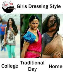 Dopl3r Com Memes Girls Dressing Style Traditional Collegeday Home
