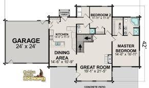 log home floor plans with garage 18 best simple log cabin floor plans free ideas home plans