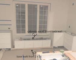 kitchen base cabinets ikea how to build a bench seat from ikea cabinets house with home