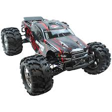 rc monster truck nitro redcat racing 1 8 earthquake 3 5 nitro 4wd rtr red towerhobbies com