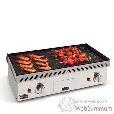 cuisine à la plancha gaz plancha 2 plaques fonte gaz 621314 de cuisine dans plancha