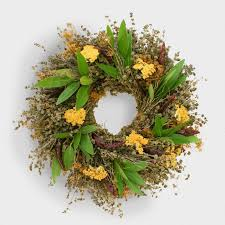 herb wreath live herb wreath world market