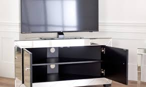 mirror endearing tv mirror cabinet mirrored stand glass