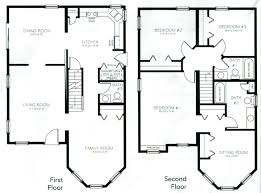 two house plan two floor house blueprints listcleanupt com